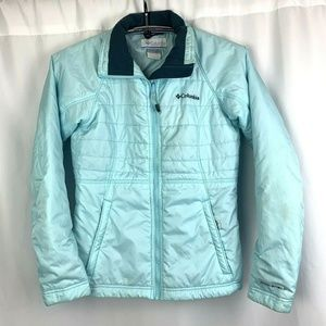Columbia Interchange Omni-Shield Womens Puffer S
